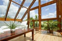 Verglasung Sonnenschutz