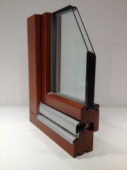 Holzfenster System IV68