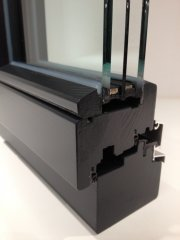 Holzfensterinnenprofil schräge Glasleiste