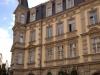 Historische Fassade in Bamberg mit Denkmalschutzfenstern