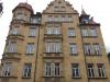 Historische Fassade in Nürnberg mit Denkmalschutzfenster