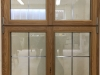 Denkmalschutzfenster mit Bleisprossen Innenansicht