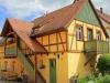 Fachwerkhaus im Landkreis Bamberg mit Fenstern nach historischem Vorbild