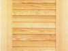 Holzklappladen Modell W 2