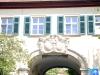 Historisches Gebäude mit Fensterläden Modell K 1