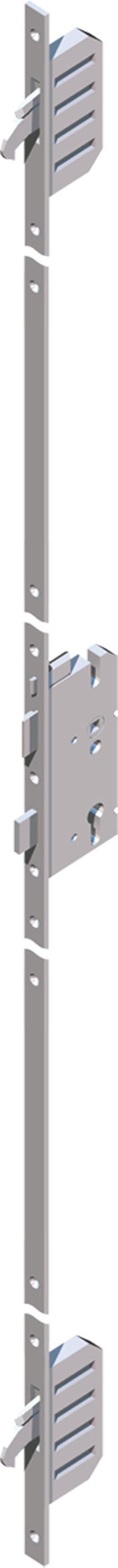 Haustür: AutoLock AV3 mit Duo-Schwenkriegeln -  mit Tagesfalle - Holyday Lockout Funktion - Schloß verschließt beim Zuziehen automatisch - Öffnung manuell oder mit Motor